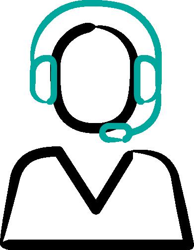 icon - person with headphones